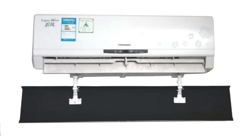 air wind deflector for split air conditioner