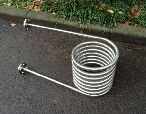 fire heating stainless steel coil