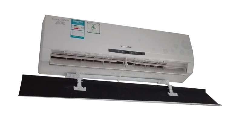 wind deflector for AC