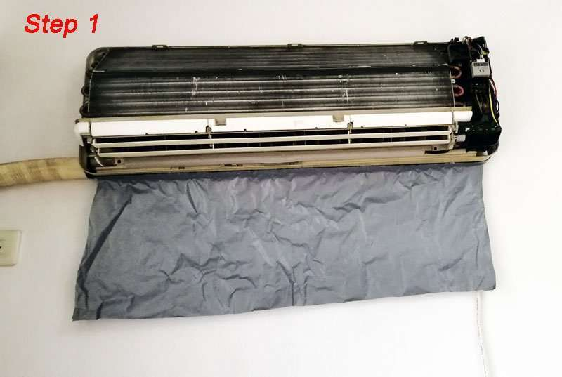 Air Conditioner Cleaning Cover V2.0,All-in-one size,AC washing bags 10