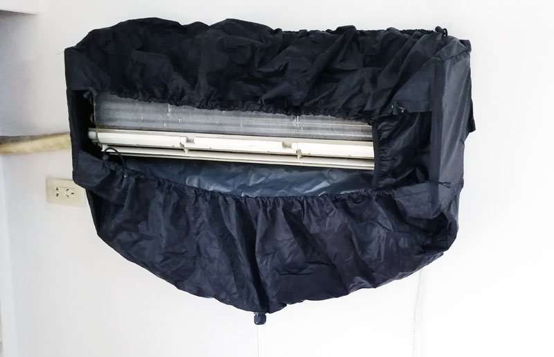 Air Conditioner Cleaning Cover V2.0,All-in-one size,AC washing bags 22