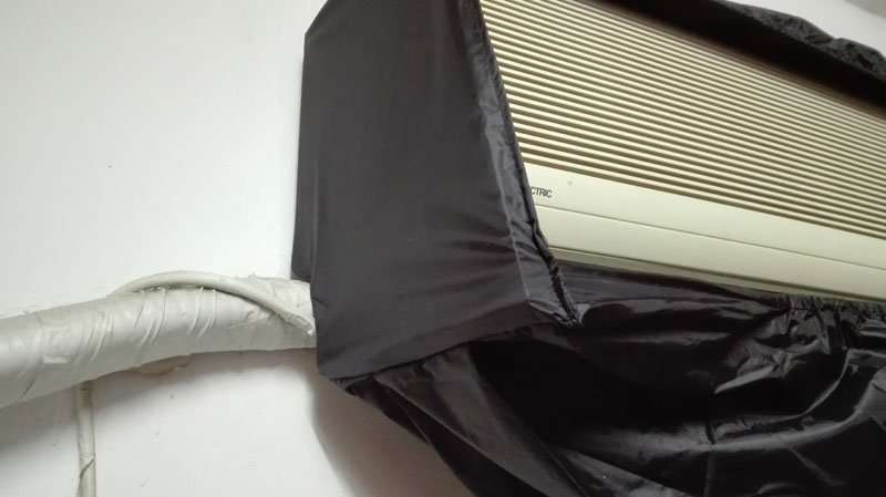 indoor coil unit cleaning bag covers