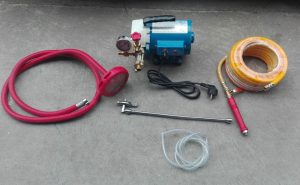 High pressure water jet pump for Air Conditioner coil cleaning