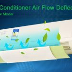 Air conditioner air flow guider