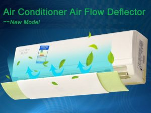 Air conditioner air flow guider 2