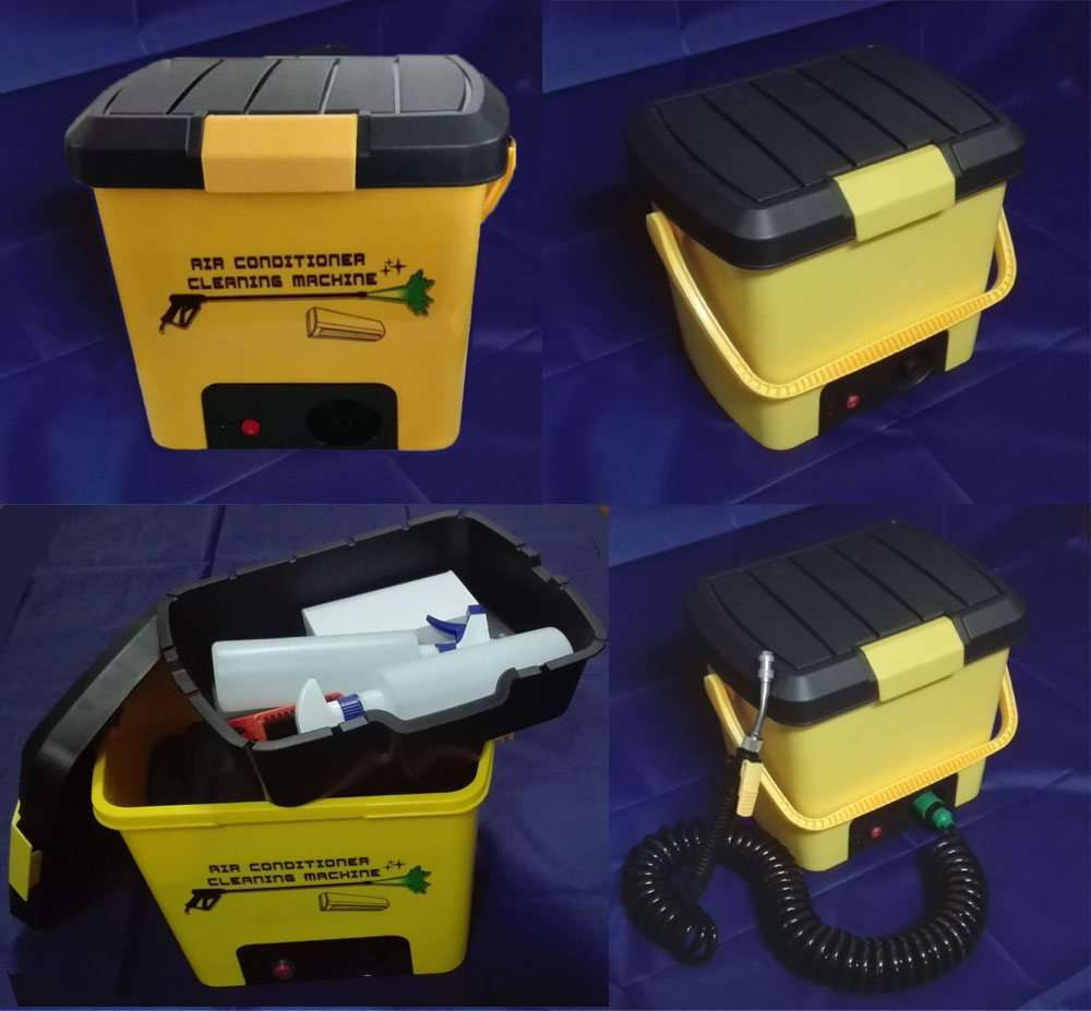 Air Conditioner Cleaning Tool Kit (All-In-One type) 4