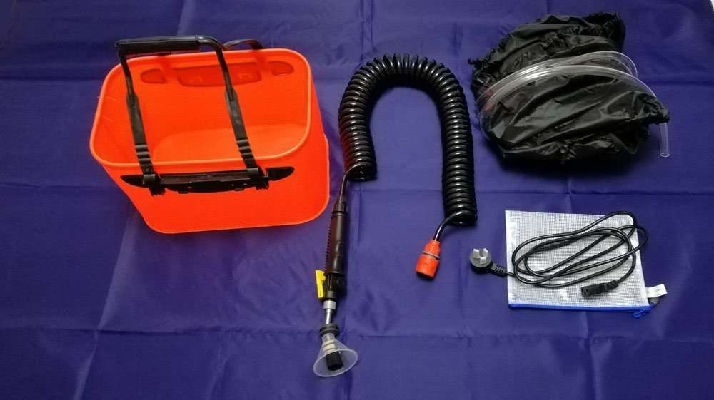 Accessory for AC cleaning service
