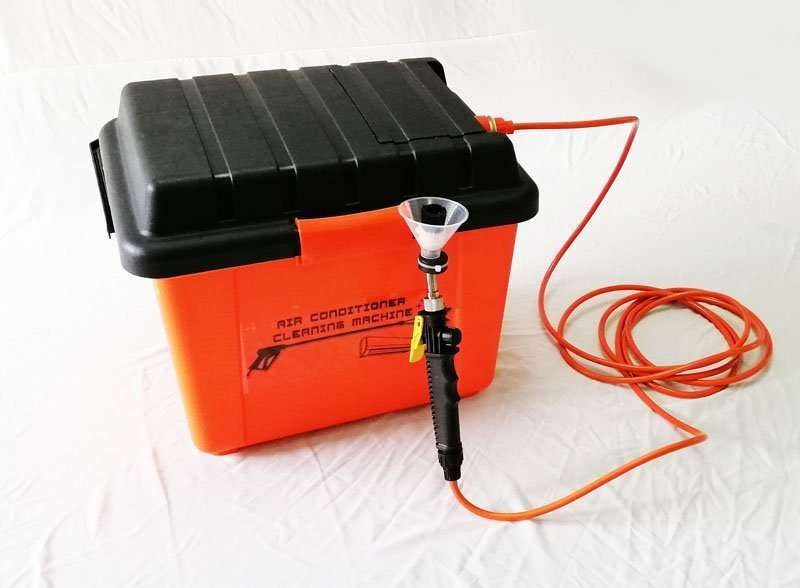 all-in-one split ac cleaning machine tool kit built with water tank together all-in-one type