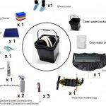 """All-In-One"" Auxiliary Tool Kit for Air Conditioner Cleaning 86"
