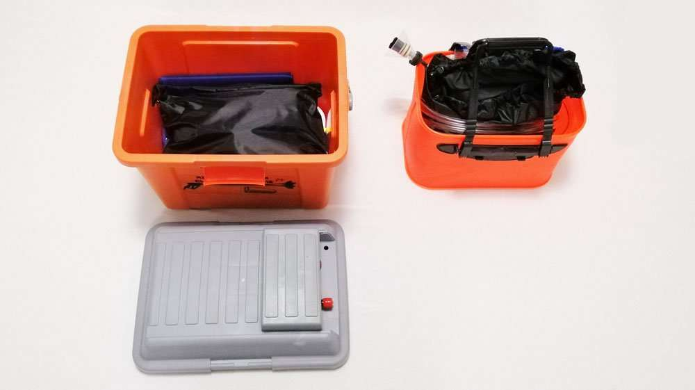 Commerical cleaning service tool kit for air conditioner
