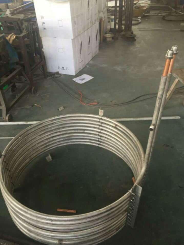 double tube heat exchanger