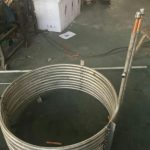 Tube in tube coil heat exchanger,for solar tank,for heat pump water tank 10