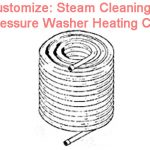 Burner heating coil for steam pressure washer 4