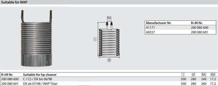Burner heating coil for steam pressure washer manufacturer ... on