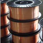 Bronze welding wire for high strength steel