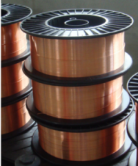Bronze welding wire for high strength steel