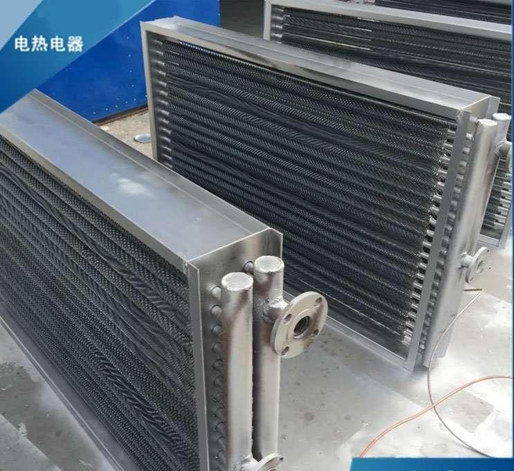 duct-inline-fin-heat-exchanger