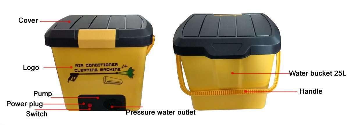 Air Conditioner High Pressure Cleaning Machine Version2.0 parts