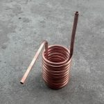 Heating coil for heat exchanging