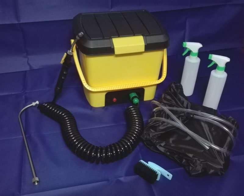 version 2.0 cleaning machine kit