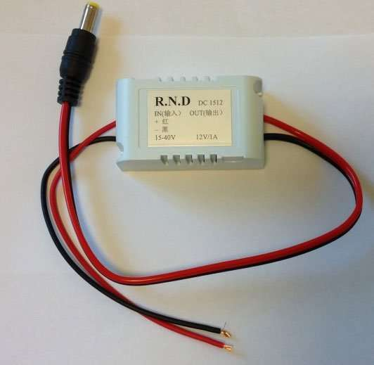 DC24V to 12V with 5.5mm head