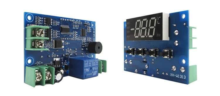 Details of High temperature digital thermostat module