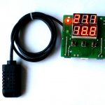 Digital Temperature & Humidity Controller Thermostat Digital