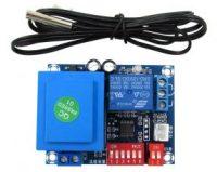 Digital Thermostat PCB panel Model XH-W1705,temperature distance 2℃