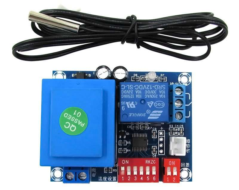 Digital Thermostat PCB panel Model XH-W1705