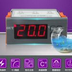 Digital regulatable thermostat temperature controller model XH-W2028 12