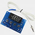High temperature digital thermostat module model xh-w1313