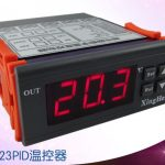 Microcomputer dual output automatic temperature control instrument XH-W2024 7