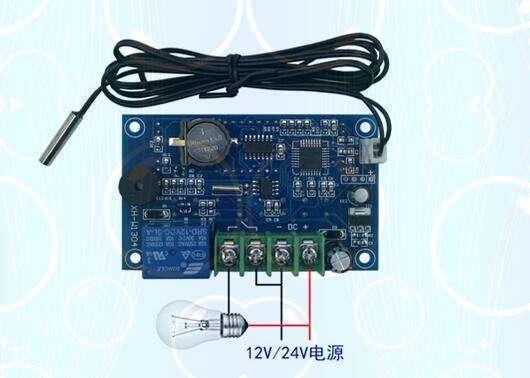 XH-W1304 12V wiring