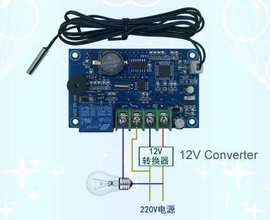XH-W1304 220v wiring