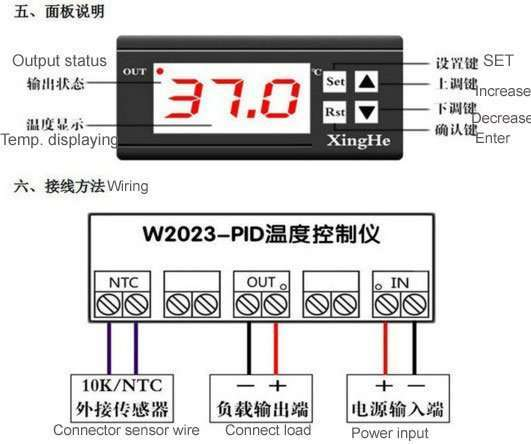 XH-W2023 screen