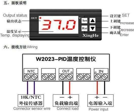 XH-W2023 screen