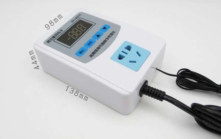 XH-W2111 thermostat and humidity meter