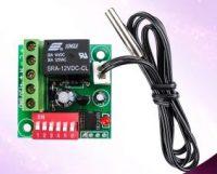Digital Thermostat Module Model XH-W1701