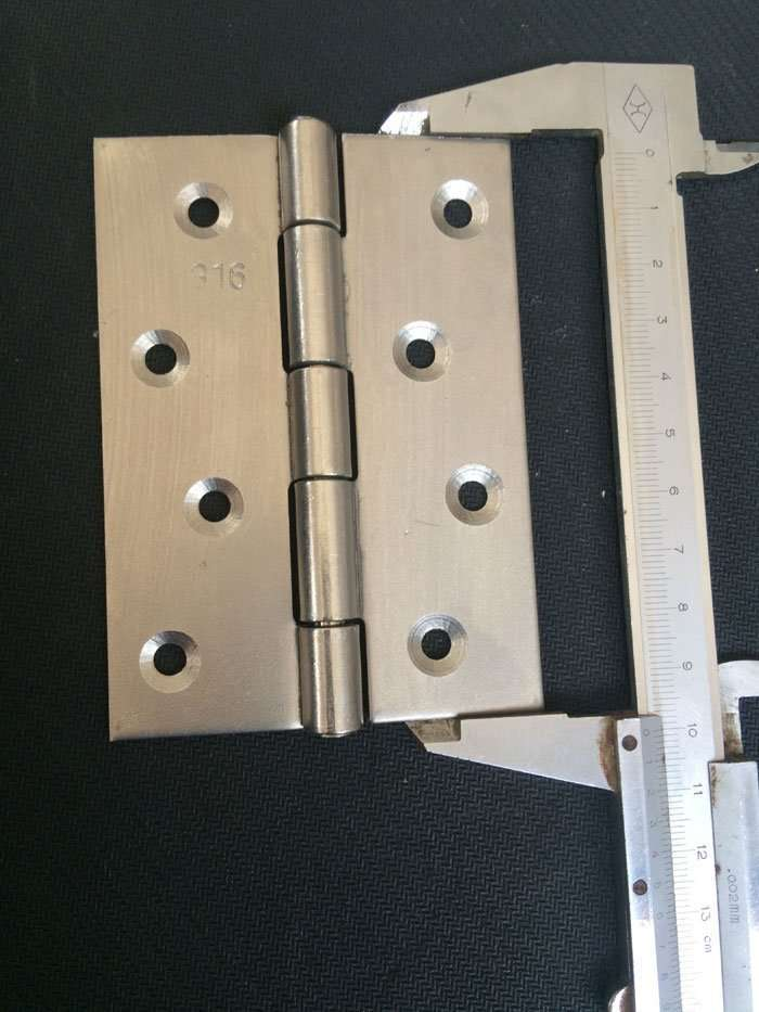stainless steel Grade 316L hinge 4inch