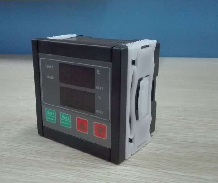 thermostat and humidity controller