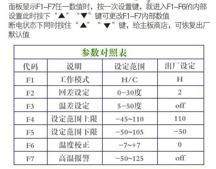 xh-w1316 code