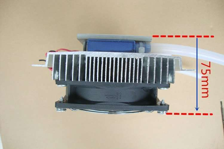 12V thermoelectric water cooling module