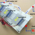 DC12v thermoelectric water cooling module