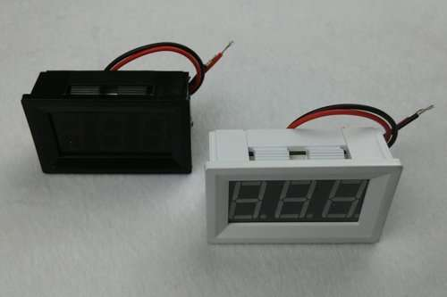 DC Voltage Displaying and Measuring Meter DC4.5-120V 4