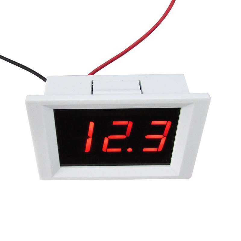 DC Upper And Lower Limit Alarm Voltage Meter 4.5-40V 2