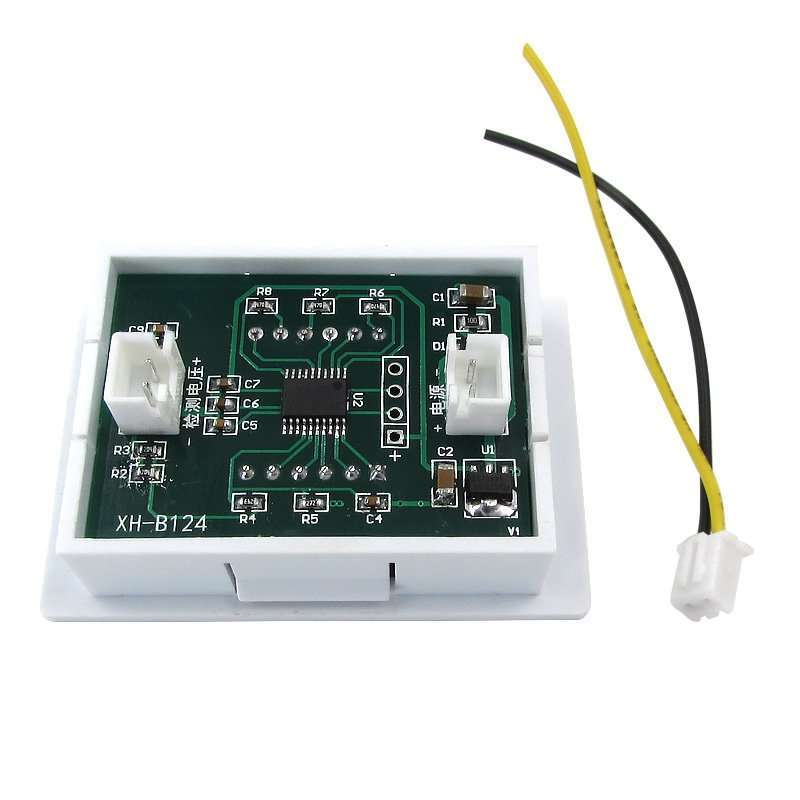 Four wires Voltage Displaying and Detecting Meter DC0-120V 4