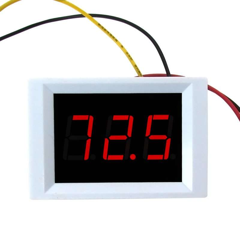 Four wires Voltage Displaying and Detecting Meter DC0-120V 3