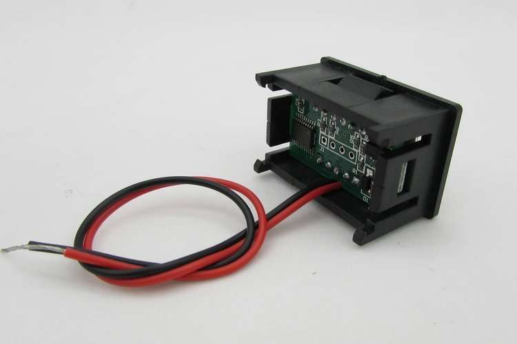Mini Digital Voltage Displaying and Measuring Meter DC4.2-30V 3