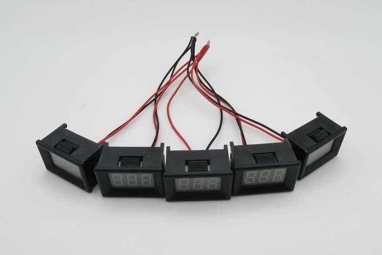 DC48V Digital Voltage Displaying and Measuring Meter DC5-68V 12