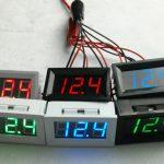 DC48V Digital Voltage Displaying and Measuring Meter DC5-68V 57